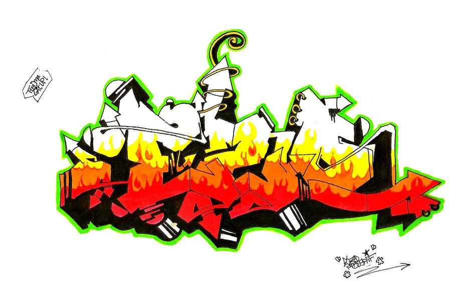 Image Graffiti Tag