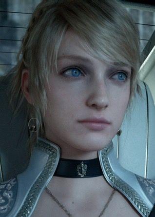 Kingsglaive Final Fantasy Xv Lunafreya Nox Fleuret Final Fantasy
