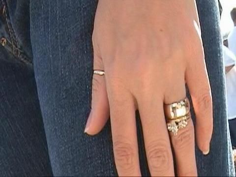 I Like The Look Of Thin Engagement Ring With Wide Band