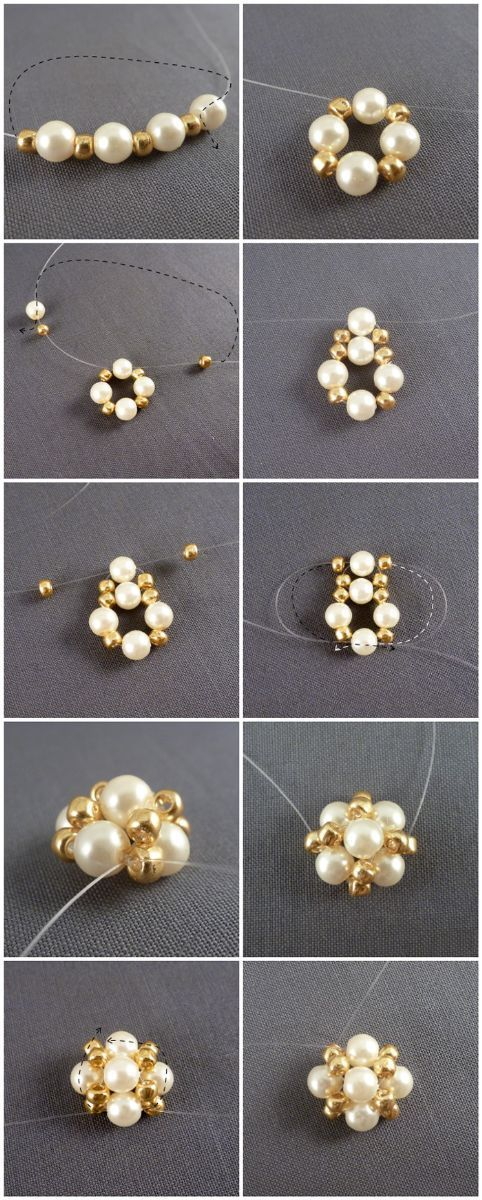 project-how to make earrings studs out of pearls – Pandahall