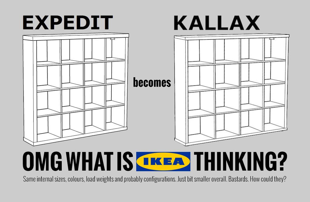 ikea expedit is discontinued what now ikea expedit shelves and ikea hack. Black Bedroom Furniture Sets. Home Design Ideas