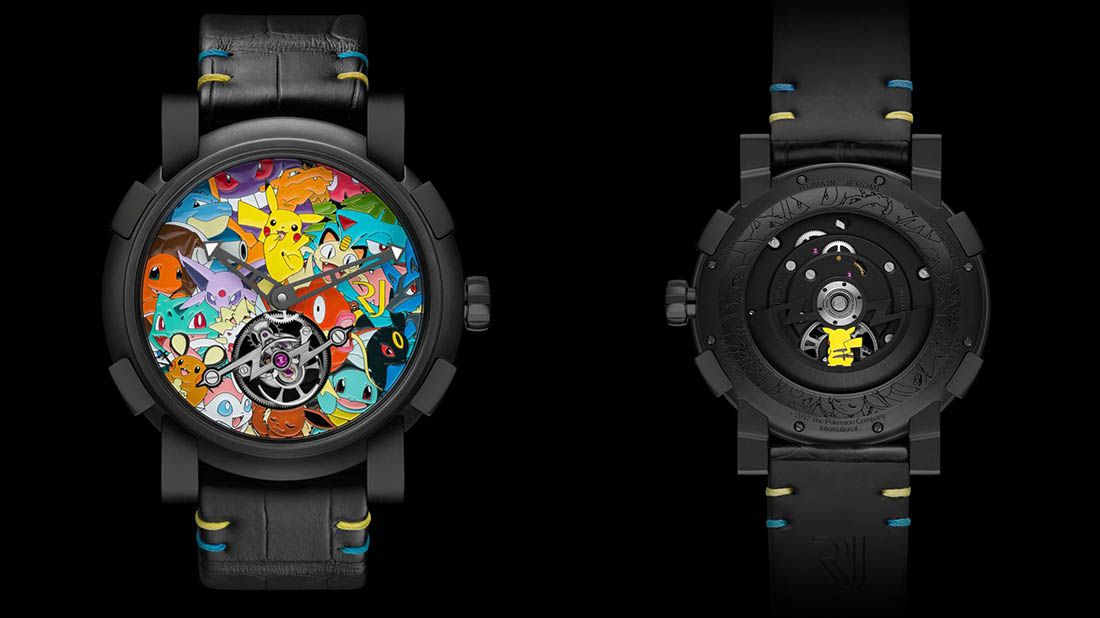 Tourbillon Pokémon Watch - RJ-Romain Jerome