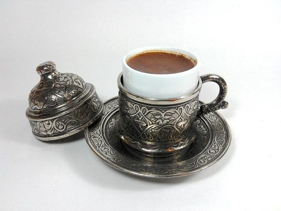 Authentic Copper Turkish Coffee Cup Espresso Cup by AuthenticBrass