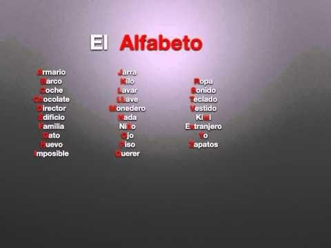 salsa de l 39 alphabet espagnol mots espagnol pinterest. Black Bedroom Furniture Sets. Home Design Ideas