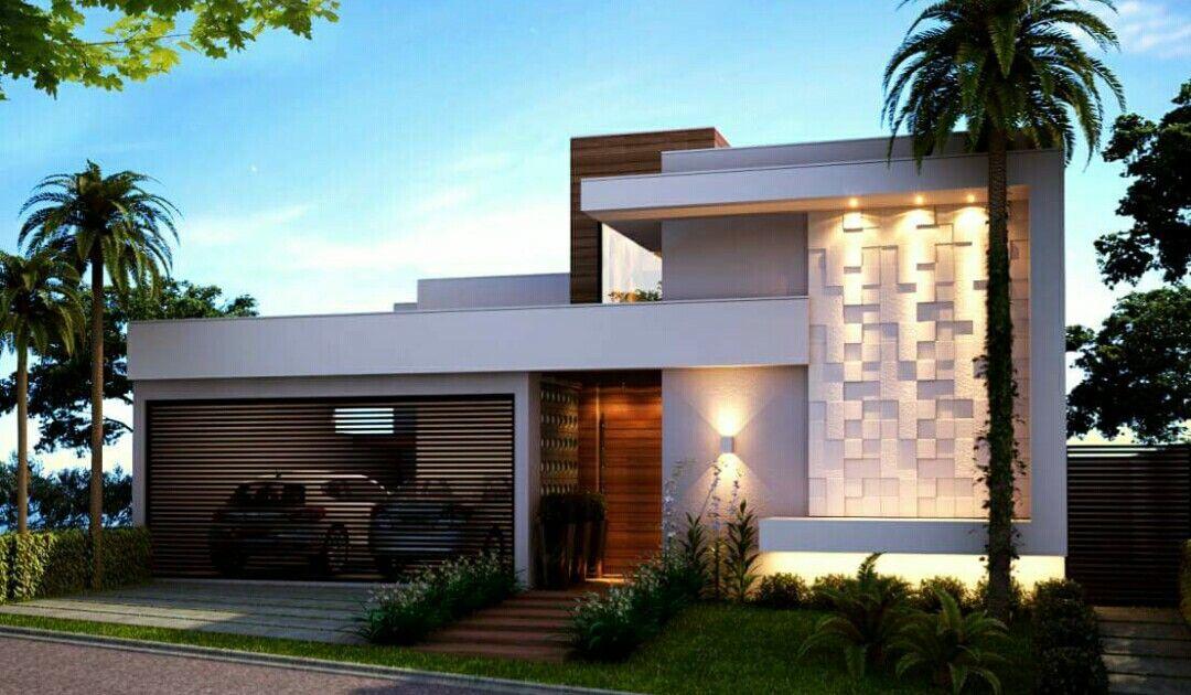 Fachada weine arquitetura em 2019 casas modernas for Casa moderna design