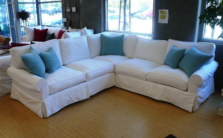 slipcover+for+sectional+sofa | Sectional Slipcovers - GetSlipcovers.com | Home Decor | Pinterest | Sectional covers Couch slipcover and Living rooms : sectional sofa slip covers - Sectionals, Sofas & Couches