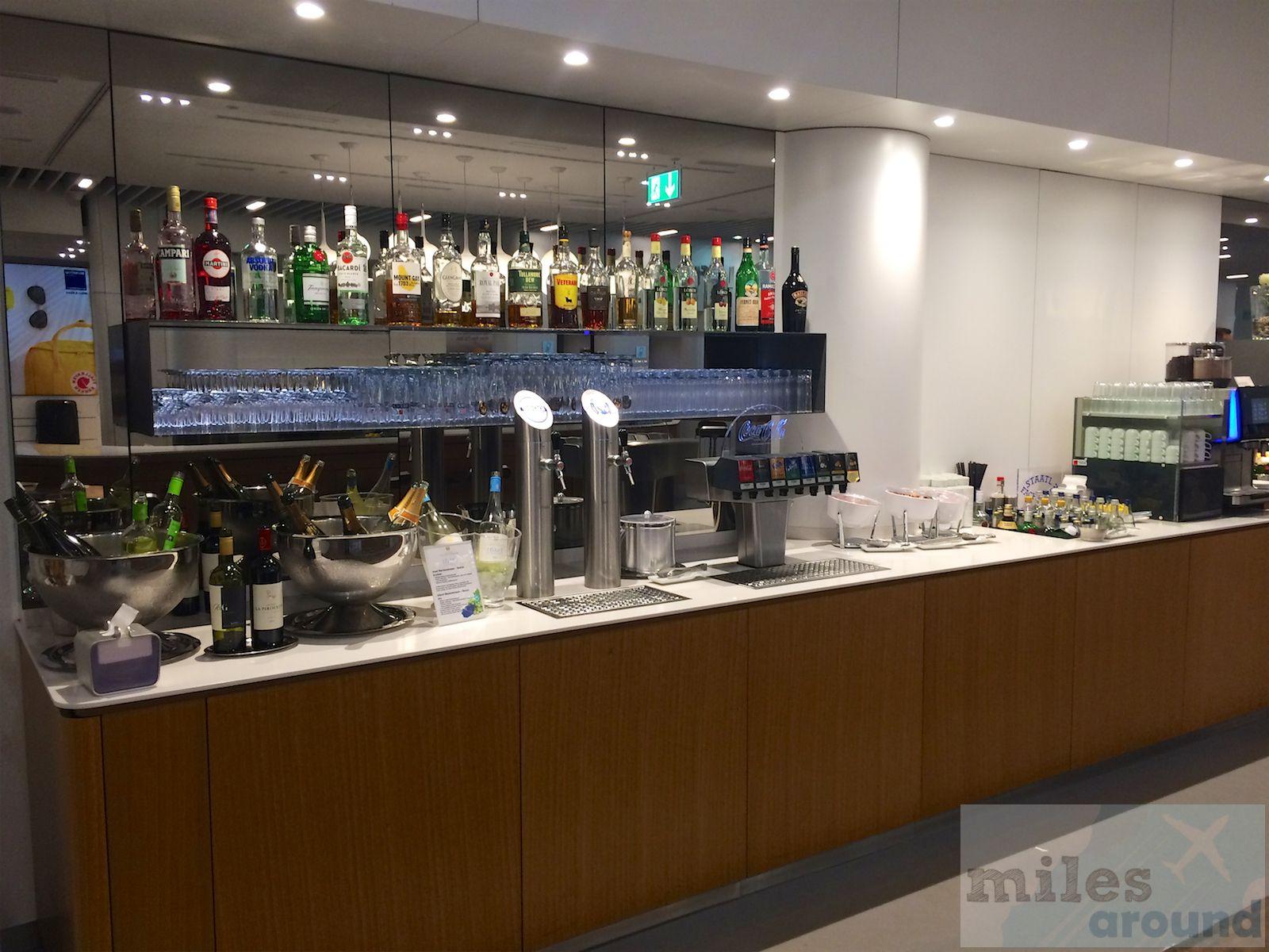 Review Lufthansa Senator Lounge AGates am Flughafen