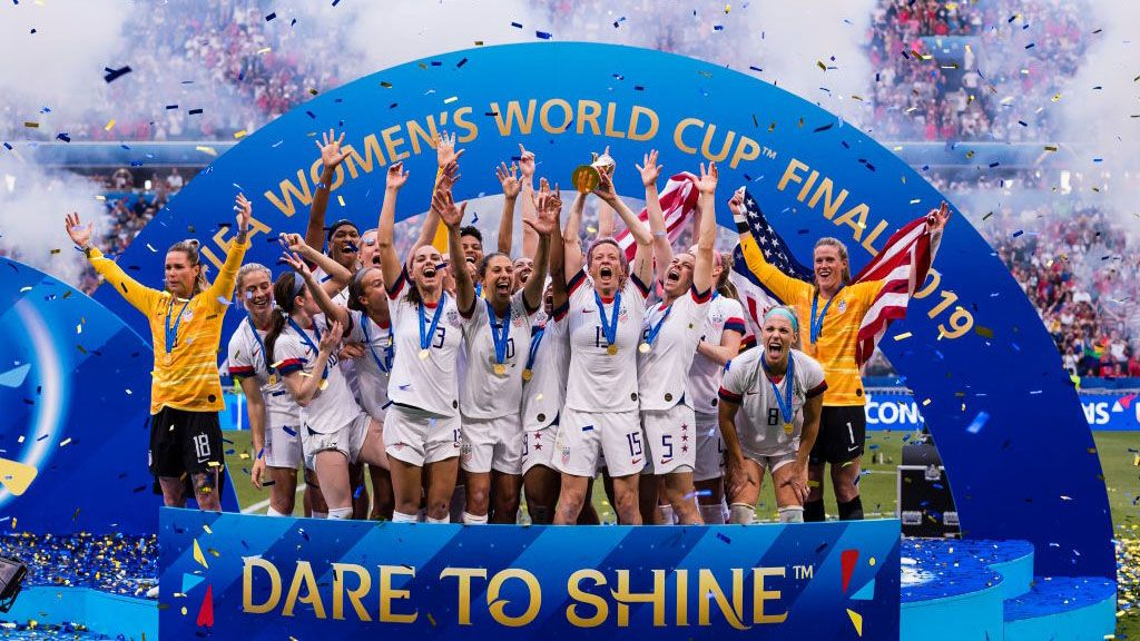 Fox Offers Special Usa Champions The Story Of The 2019 Fifa Women S World Cup World Cup Uswnt Usa Soccer Women