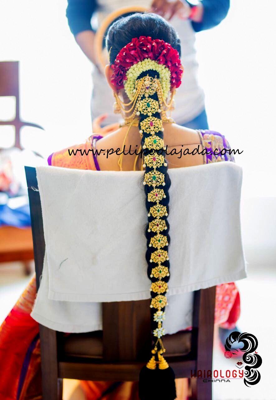 Hairstyling hairology by chinna order fresh flower poolajada
