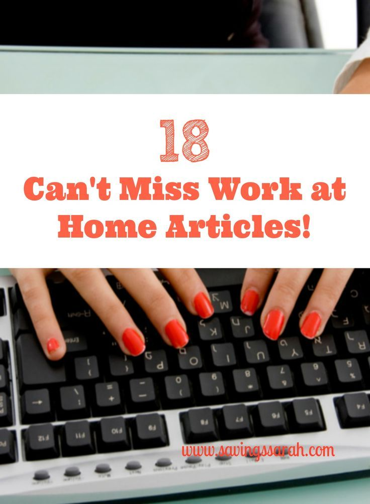 18 cant miss workathome articles with images resume