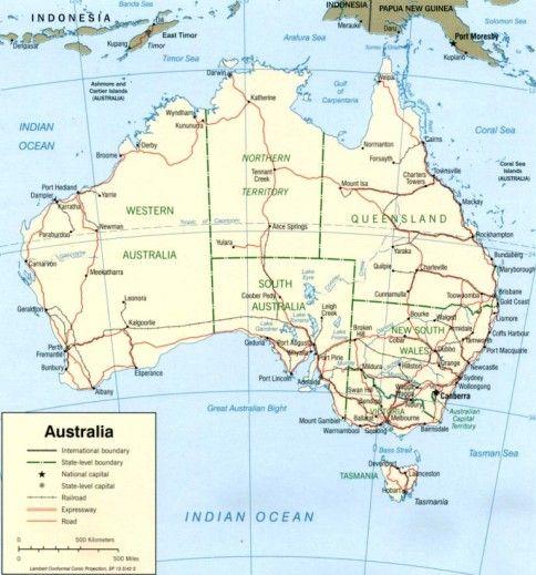 Australia Are Marea Barieră De Corali Si Multe Parcuri Naţionale