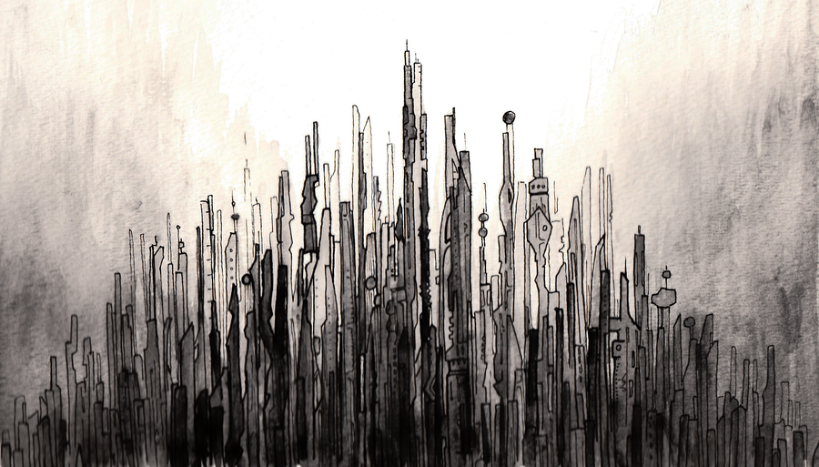 Cityscape by Peter-D.deviantart.com on @DeviantArt