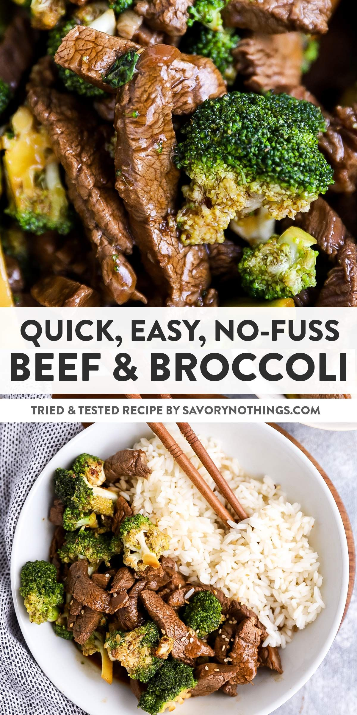 Photo of Easy Beef and Broccoli Stir Fry