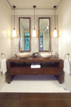 Delightful Images Of Vanities With Pendant Lights   Google Search Nice Ideas