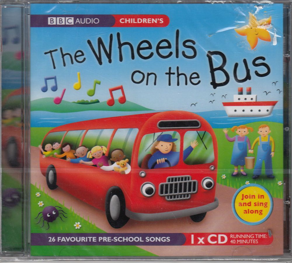 Audio with CD The Wheels on the Bus