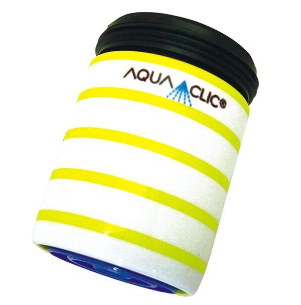 Spart bis zu 50% Wasser und Energie am Wasserhahn: AquaClic Citron aus Messing.