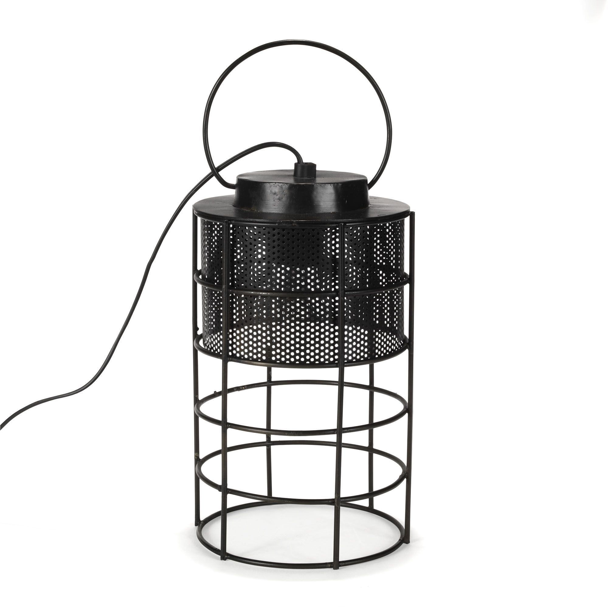 lampe baladeuse style industriel noir oxyd faraday. Black Bedroom Furniture Sets. Home Design Ideas
