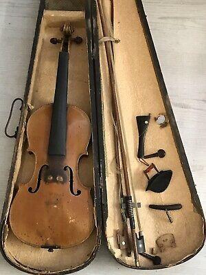 Antique Violin Stradivarius Label Faciebat Anno 1724 Ebay Violin Antiques Cremona