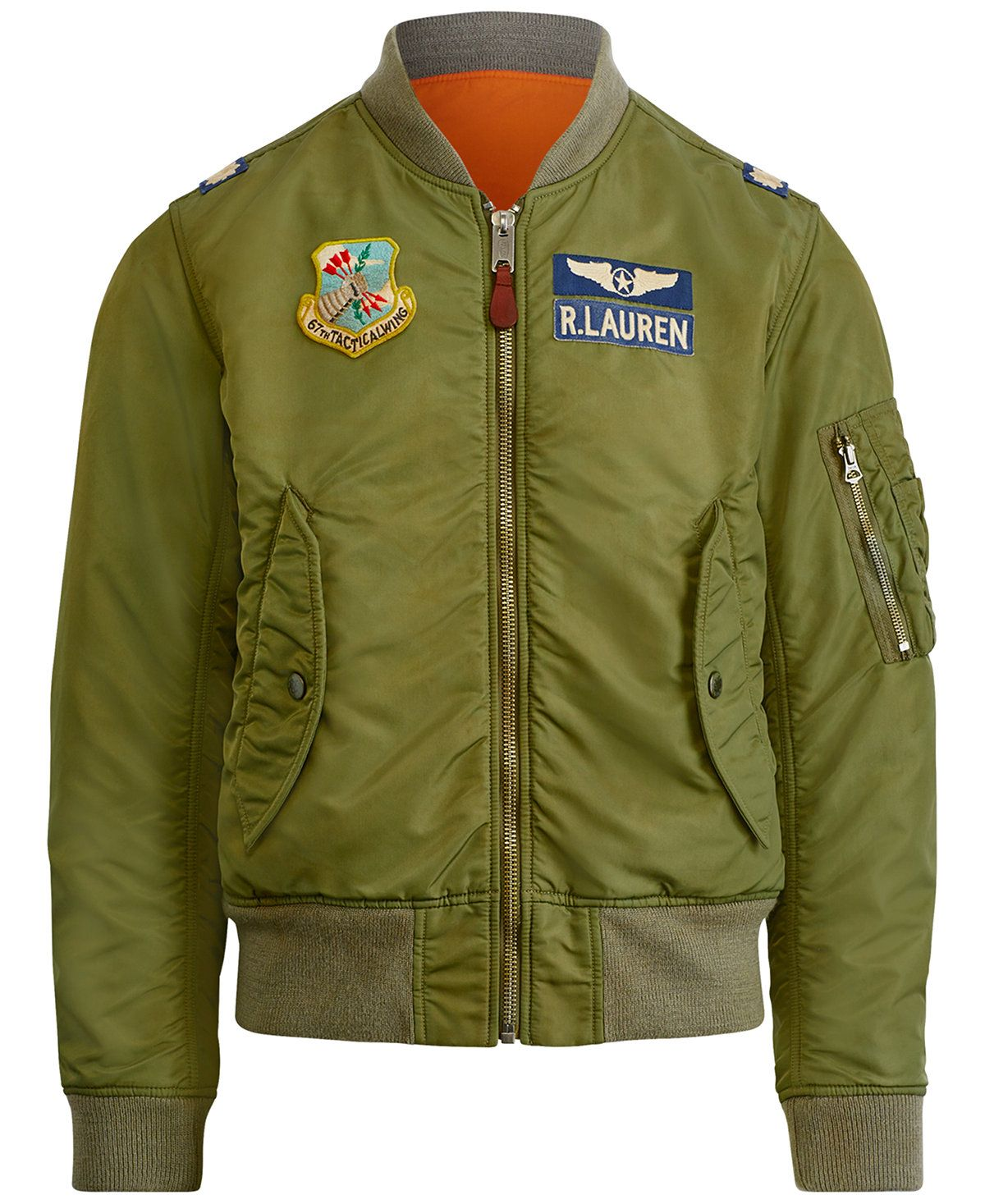 4150161c8 Polo Ralph Lauren Men's Iconic MA-1 Bomber Jacket - Coats & Jackets ...
