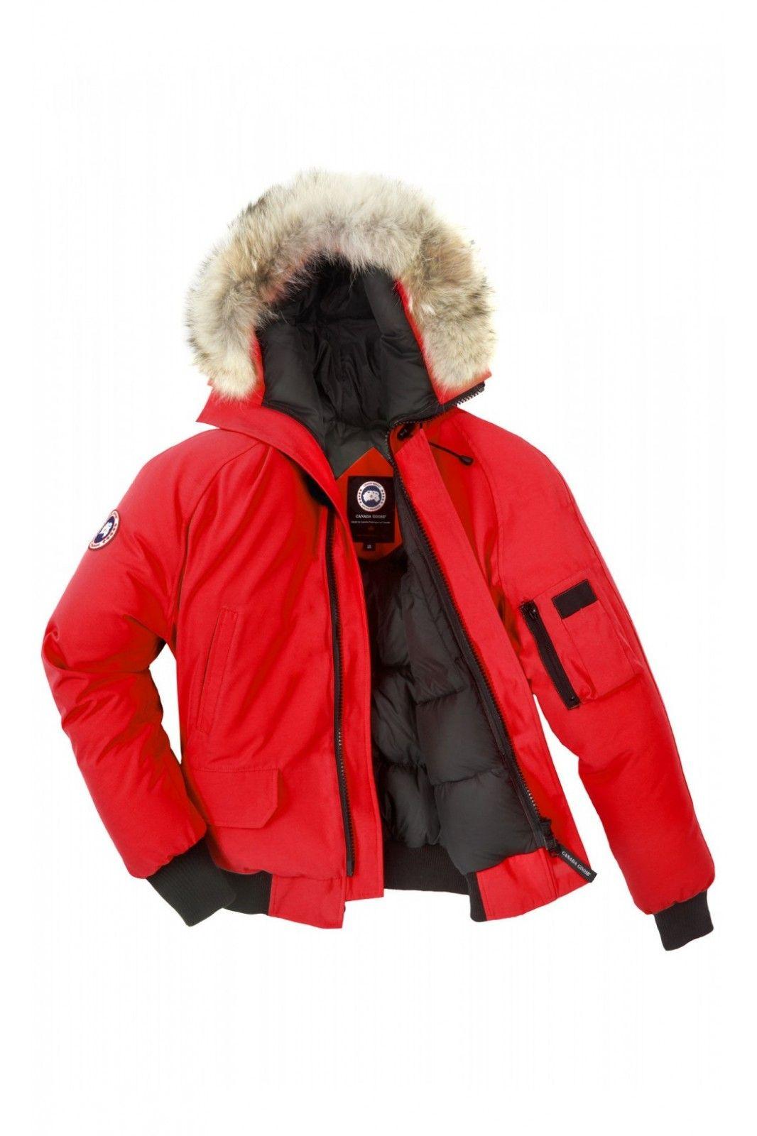 canada goose dark red