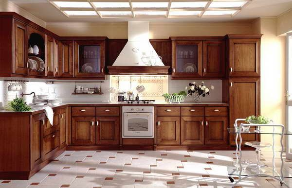 refurbished kitchen Refurbished Kitchen Cabinets With Wall Ceramic ...