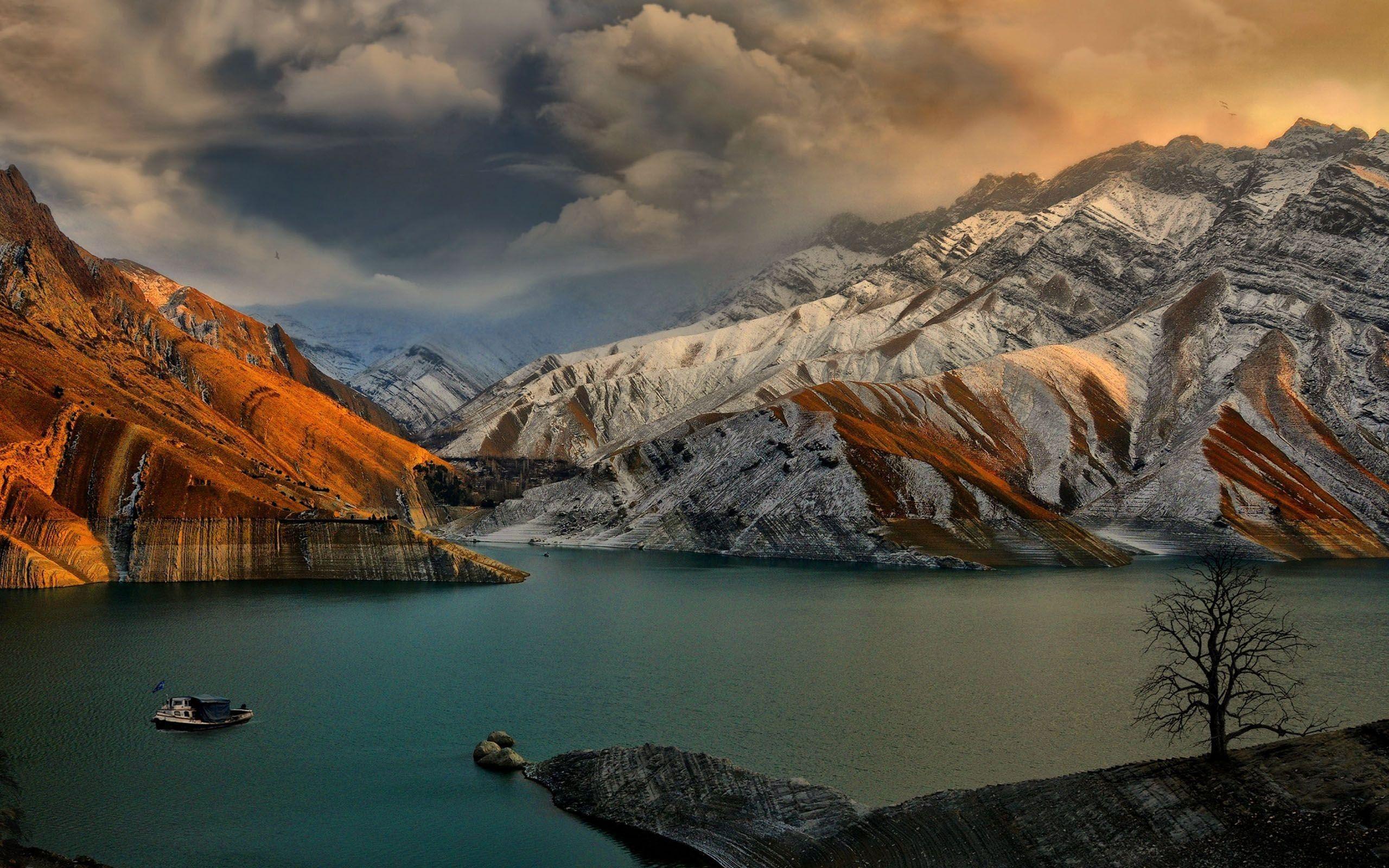 Iran Dam Landscapes Nature Rivers Wallpaper Lake Landscape Landscape Wallpaper 4k Background