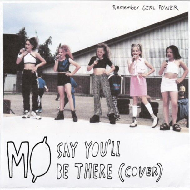 Single Serving Mo Say You Ll Be There Spice Girls Cover Spice Girls Songs Singer Spice Girls