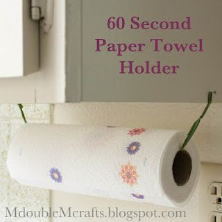 Incredibly Easy Paper Towel Holder Diy Diys Pinterest Paper