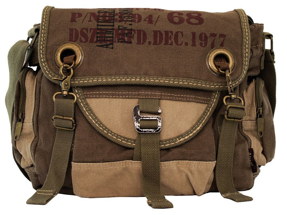 e5ccead23b Army Courier Vintage Bike Messenger Bag - Larger Version - Serbags - 2