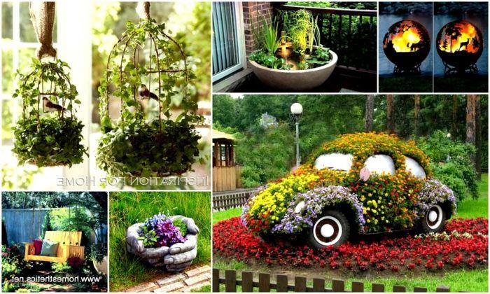 1001 ideas sobre dise o de jardines irresistibles y - Ideas originales jardin ...