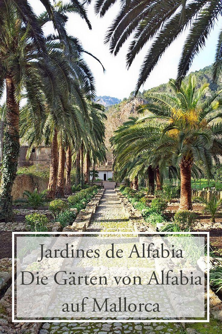 Jardines de Alfabia: Die Gärten von Alfabia