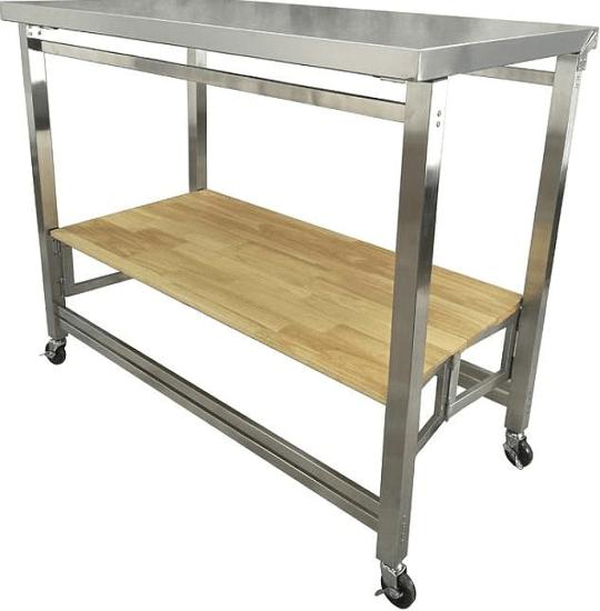 Labbe X-Large Kitchen Cart | Kitchen Islands by Symple Stuff ...