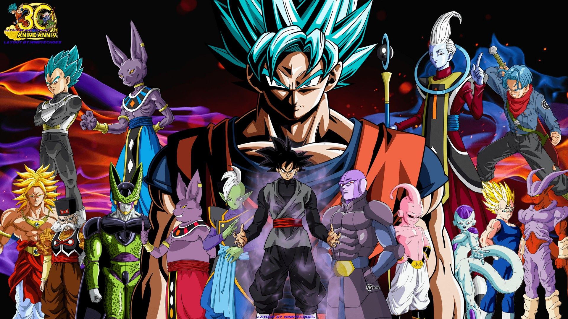 dragon ball super wallpaper full hd - 2018 wallpapers hd | pinterest