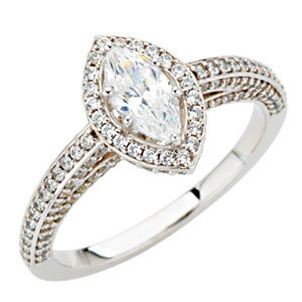 marquis shape engagement rings Diamond Cuts And Marquise