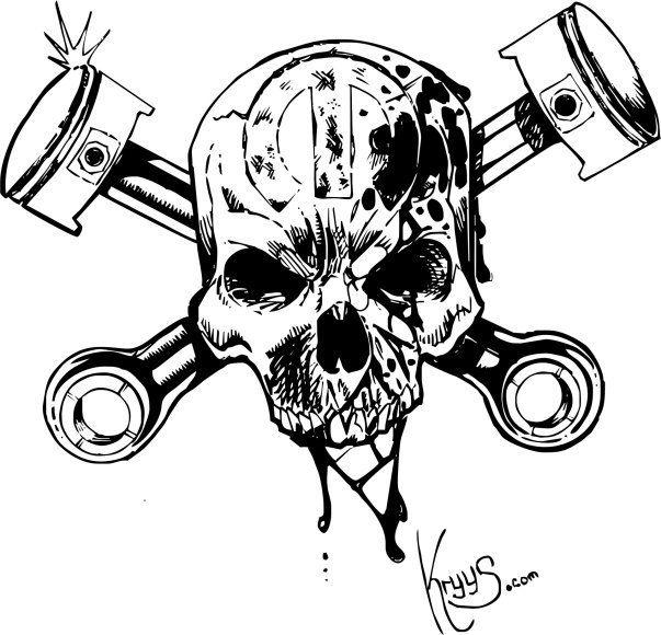 skulls pistons google zoeken tattoo idea 39 s pinterest tattoo piston tattoo and tattoo. Black Bedroom Furniture Sets. Home Design Ideas