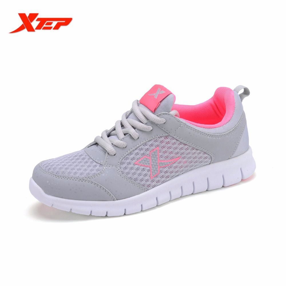 XTEP Brand BreathableRunning Shoes for Women Athletic Sports Shoes Gym  Sneakers Cross-trainers zapatos de hombre 985118119930 a08ef32c1a3