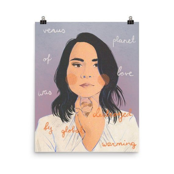 An Illustration Of Mitski With Lyrics From Her Song Nobody From The Album Be The Cowboy Museum Quality Posters Made On Thick And Durab In 2020 Mini Art Art Art Prints And i know no one will save me. pinterest