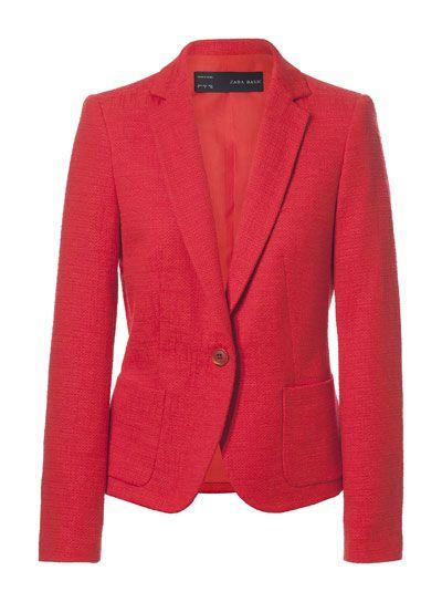 diseño innovador 13f47 6a90f BLAZER UN BOTÓN - Blazers - Chaquetas - Mujer - ZARA España ...