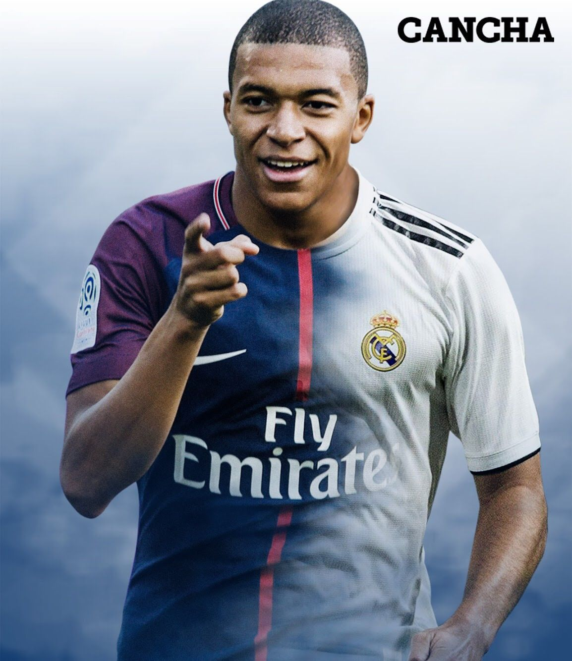 0e4e1818293 Soccer design Mbappe no va al Real Madrid