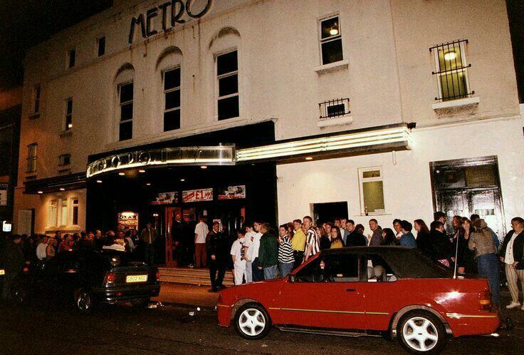 The Metro nightclub in Saltcoats.