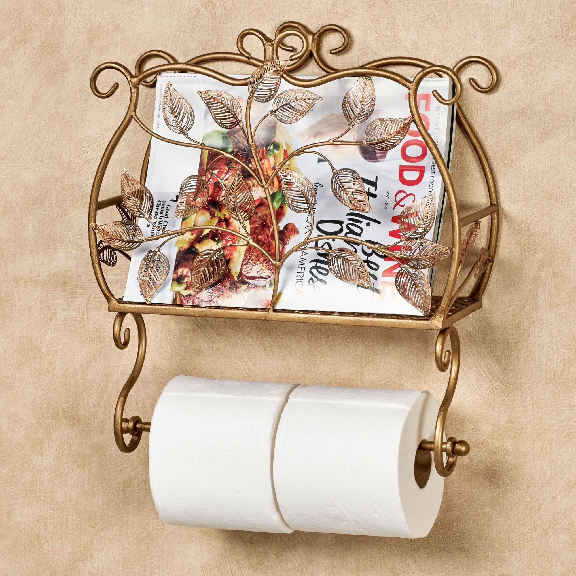 Eden Wall Toilet Paper Holder And Magazine Rack Toilet Paper Holder Toilet Paper Decorating Bathroom