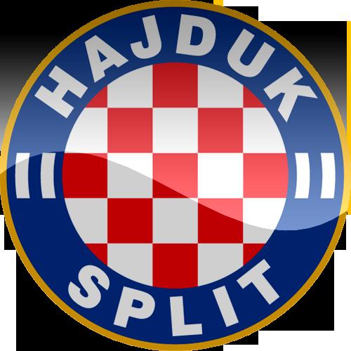 hnk hajduk split hd logo croatia football soccer world