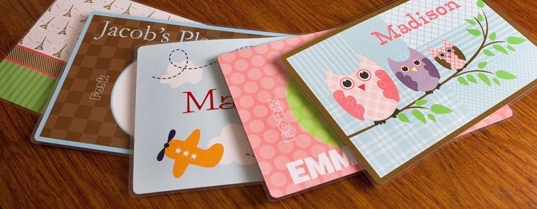 Personalized Place Mats Personalized Kids Placemats Placemats Kids Personalized Gifts For Kids