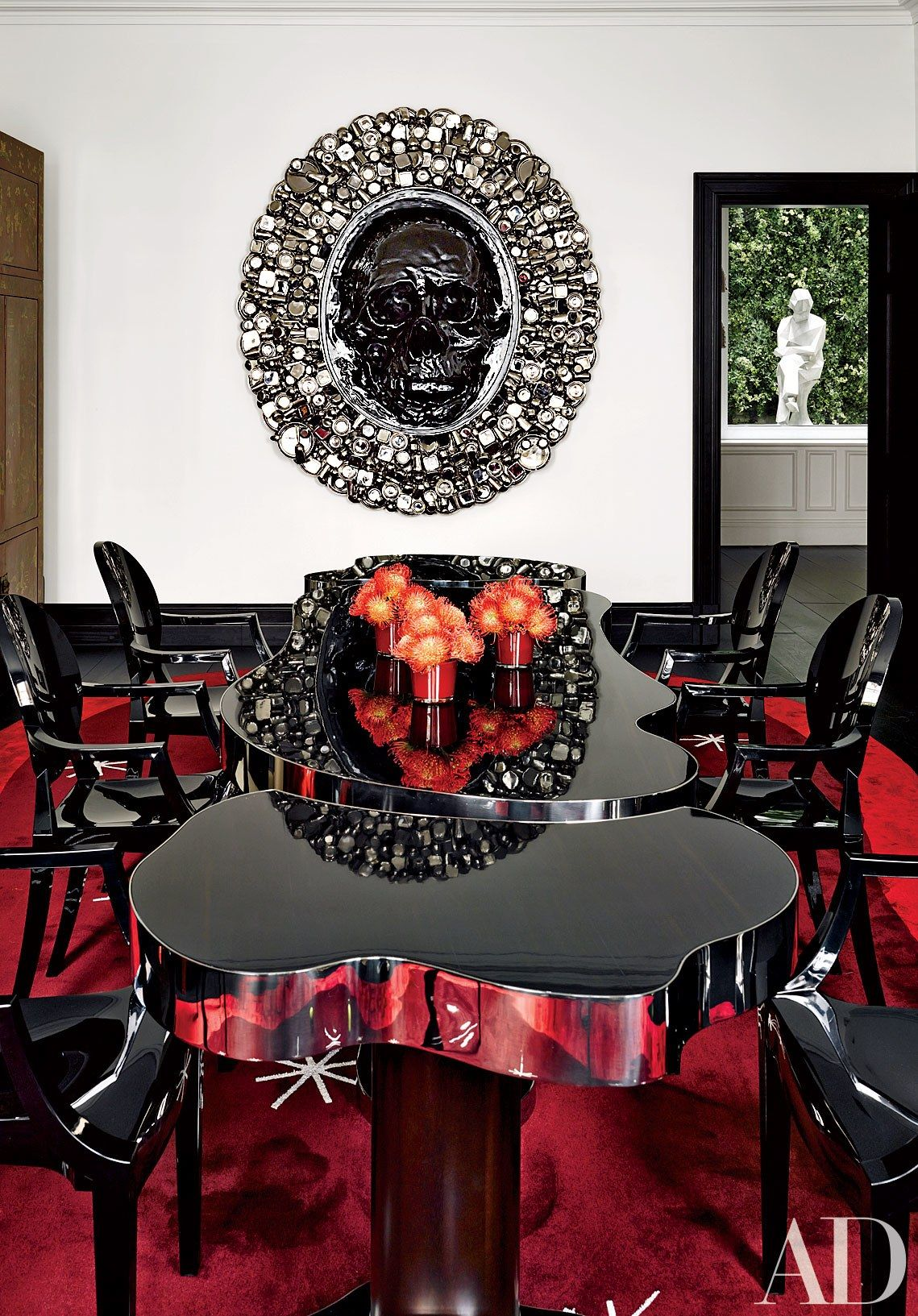 Bold Designs By French Decorator François Catroux