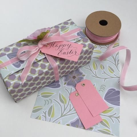 10 Pink Eyelet Tags (small) by Jane Means