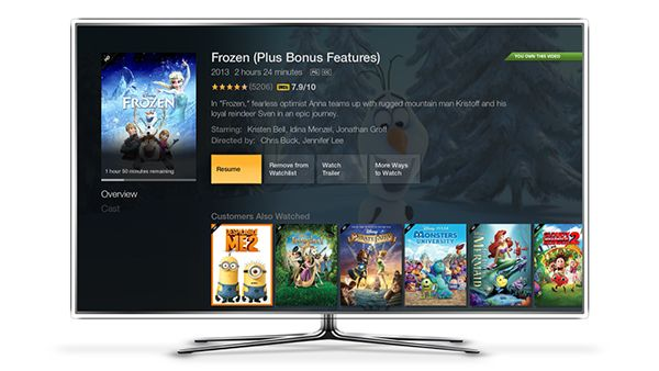 Amazon Fire TV - Movie Detail Page on Behance | theater