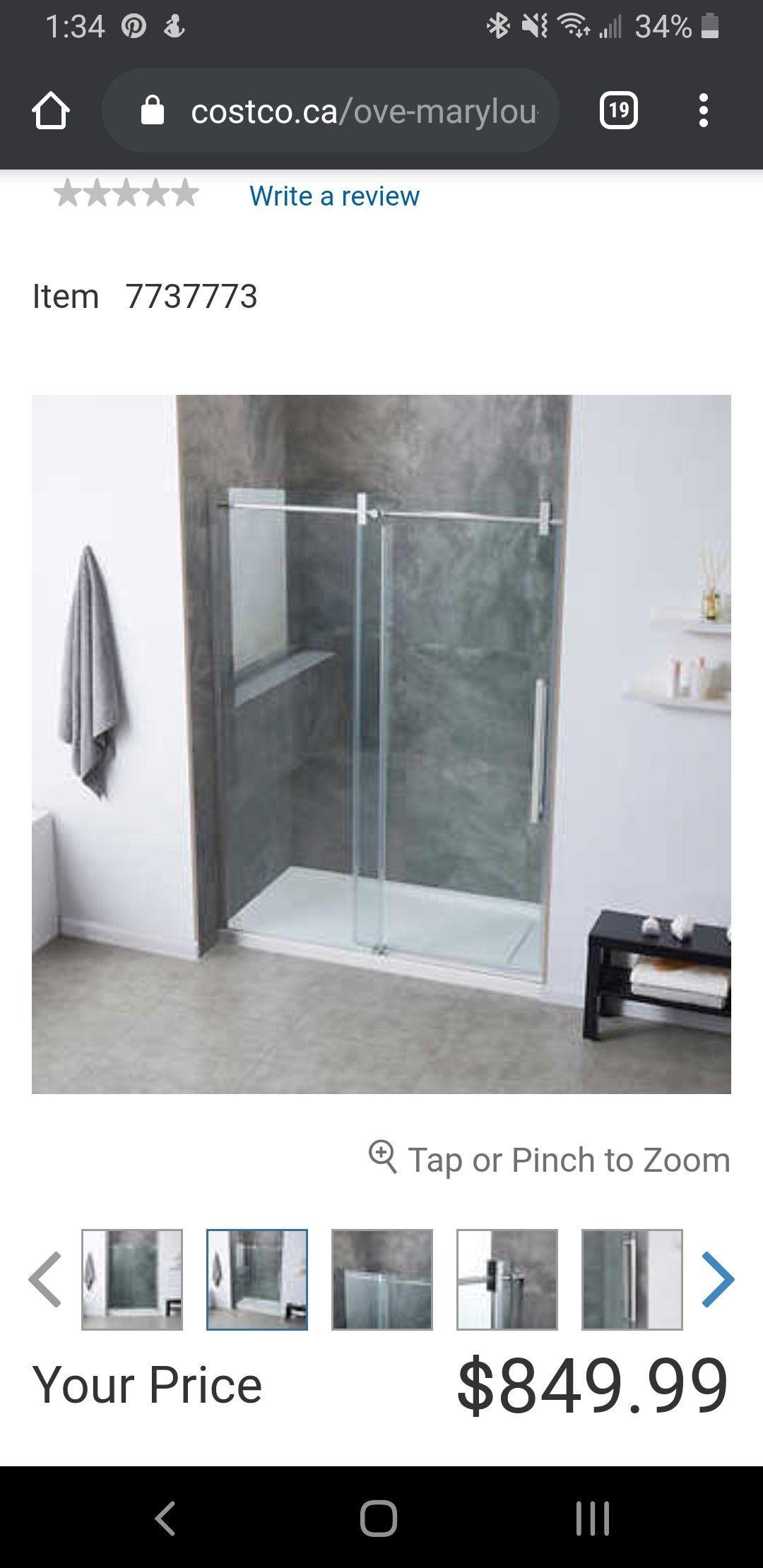 Shower Door In 2020 Shower Doors Bathroom Renos Shower