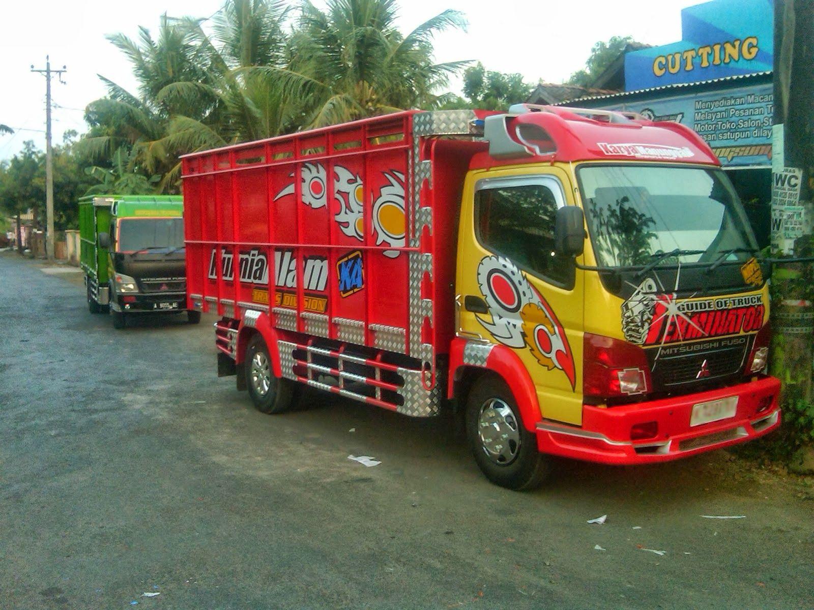 Kumpulan Foto Modifikasi Truk Indonesia Terbaru Modif Modifikasi Mobil Mobil Truk
