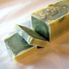 Cucumber Melon with Green Tea Soap | Dausy Artisan