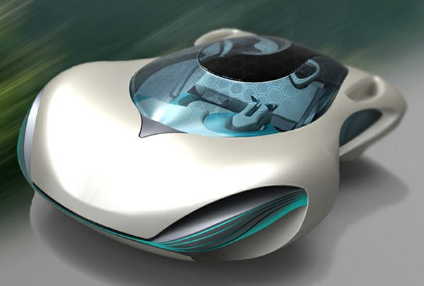 Taihoo 2046 Concept Car - new thinking on future cars from China...